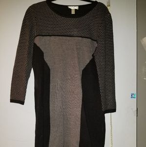 Dress barn sweater dress